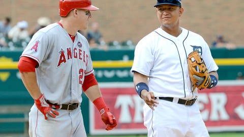Miguel Cabrera over Mike Trout, AL, 2012
