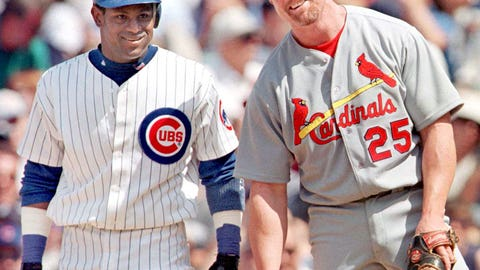 Sammy Sosa over Mark McGwire, NL, 1998