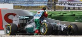 F1: Hamilton to undergo physiotherapy following 30G qualifying crash