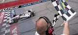 Will Power holds off Helio Castroneves for 3rd win of year