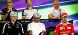 F1 drivers asked if they were bored during press conference