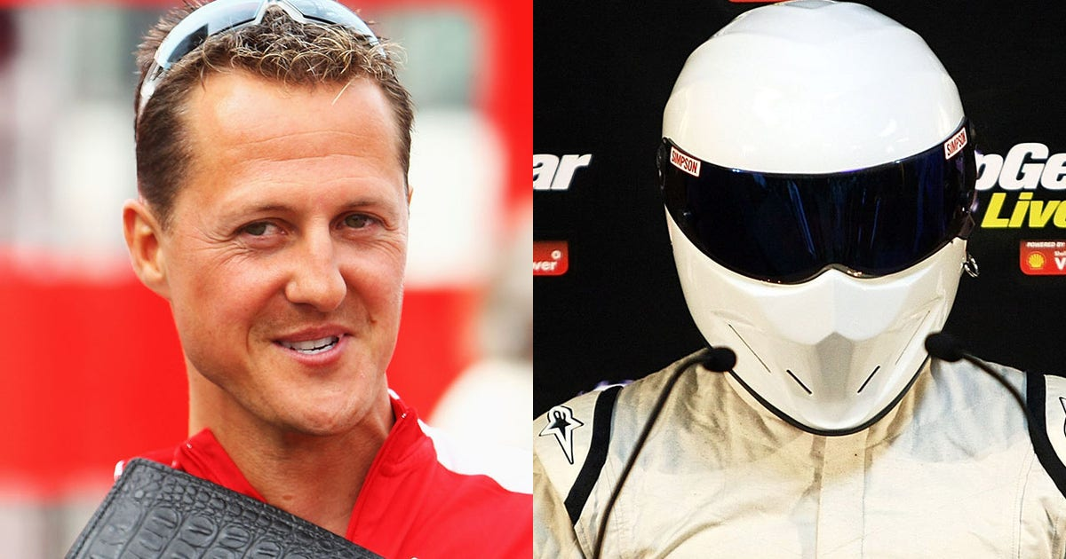 Remembering the time michael schumacher was the stig fox sports publicscrutiny Gallery