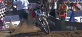 Twelve wild rides of 2016: Jason Anderson gets hit in the head