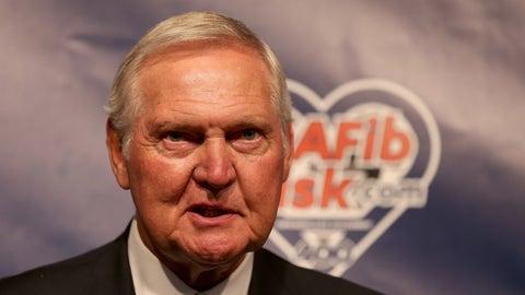West Virginia: Jerry West (Basketball Hall of Famer)