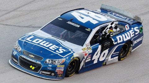 NASCAR sponsorship (one year): $15 million