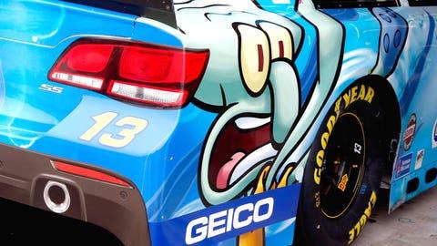 GEICO gear: Casey Mears' 2015 Sprint Cup paint schemes