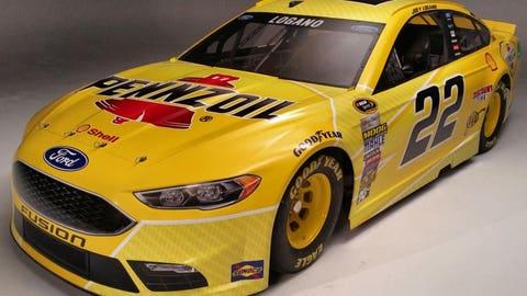 Team Penske 2016 paint schemes