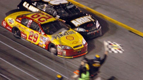 2007 — Kevin Harvick, 0.020 seconds