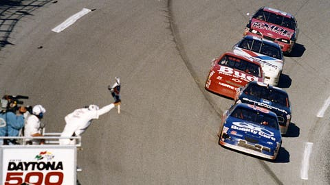 1996 — Dale Jarrett, 0.120 seconds