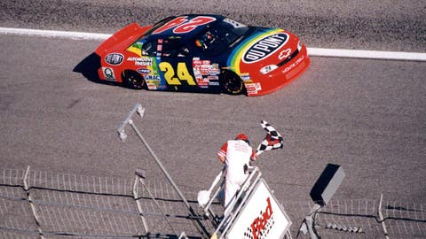 1999 — Jeff Gordon, 0.128 seconds