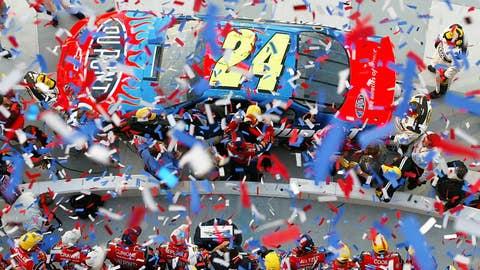 2005 — Jeff Gordon, 0.158 seconds