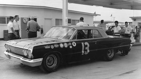 No. 13, Johnny Rutherford