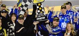 Dale Earnhardt Jr. reflects after winning on anniversary of father's death
