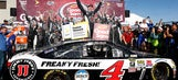 Five factors that put Kevin Harvick in Victory Lane at Phoenix