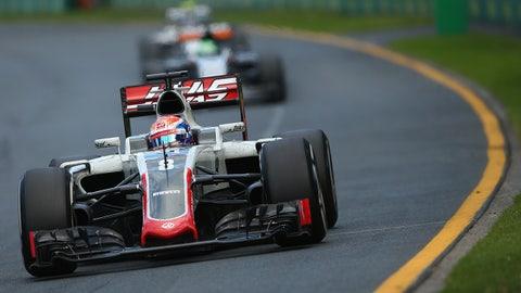 2016, Haas F1 team runs well