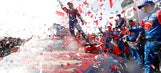 Superman soars to victory as Jimmie Johnson wins Auto Club 400