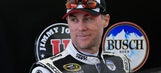 Watch Kevin Harvick hit hole-in-one on backyard replica of Augusta's 12th hole