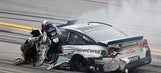 Danica Patrick needed X-rays after hard contact with wall