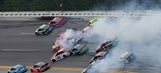 'The Big One' finally strikes with 28 to go in GEICO 500
