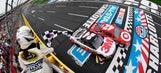 Trevor Bayne, Greg Biffle, Kyle Larson win segments in Sprint Showdown