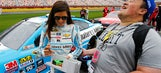 Danica Patrick takes to Twitter to post video thanking her fans