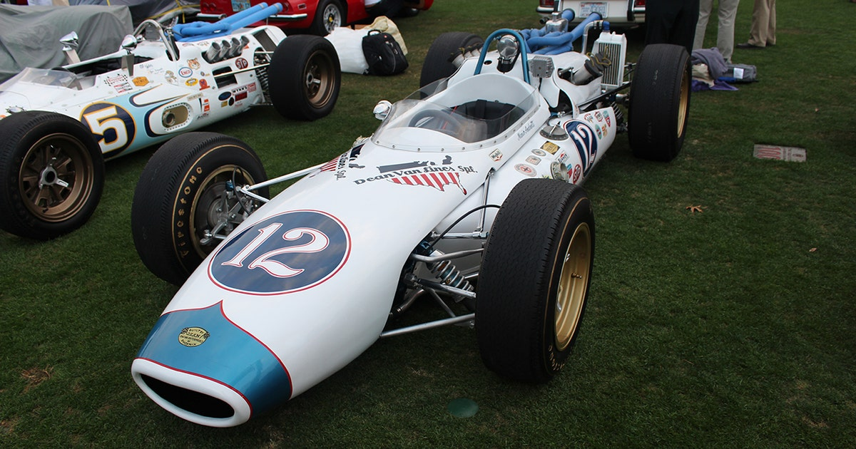 Ray Evernham restores Mario Andretti rookie car for 100th Indy 500 ...