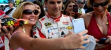 Selfies with Jeff Gordon all part of the Coca-Cola 600 experience
