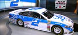 Brad Keselowski unveils Darlington throwback scheme