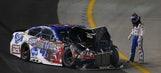 AJ Allmendinger hurts thumb, Chase chances after wrecks at Kentucky