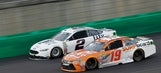 Carl Edwards 'saved a little too much' fuel after runner-up finish
