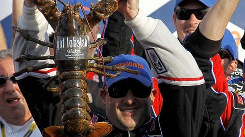 Loudon the Lobster at New Hampshire Motor Speedway