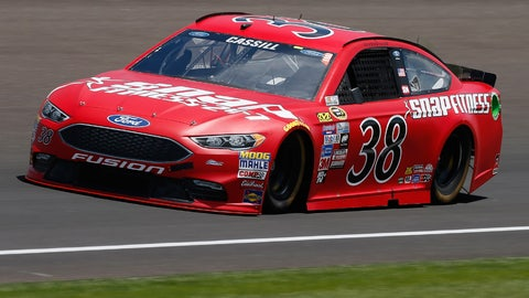 8. Top-20 finish for Cassill
