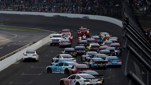 4. Late-race cautions