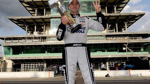 Drivers who won Brickyard 400 and Cup title in same season