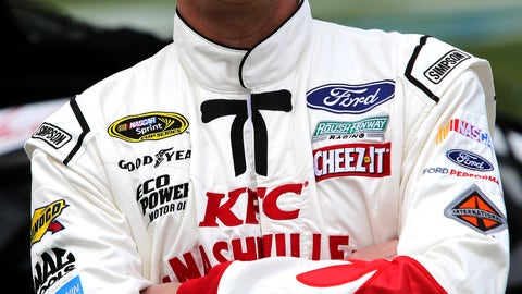 1. Greg Biffle -- A salute to Colonel Sanders