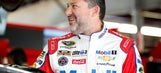 Tony Stewart saluted at Pocono Raceway