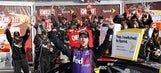 Denny Hamlin puts together error-free race to win at Watkins Glen