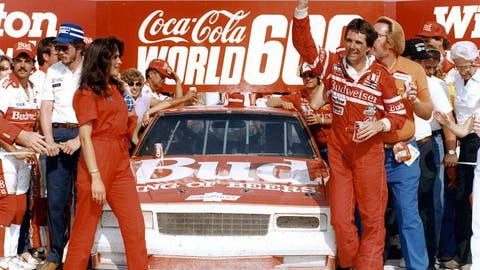 Darrell Waltrip and Neil Bonnett, Budweiser