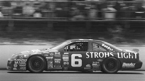 Mark Martin, Stroh's Light