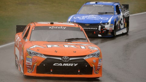 XFINITY Series races in the rain at Mid-Ohio