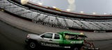 Weather could be a factor at Bristol this weekend