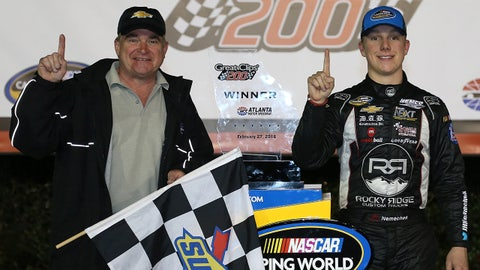 John Hunter Nemechek, 2 win