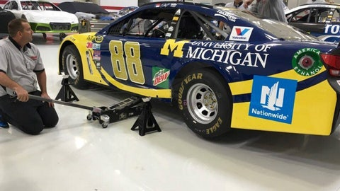 Alex Bowman: University of Michigan