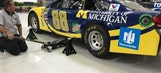 University of Michigan colors for No. 88 this weekend