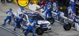 Kevin Harvick says 'terrible' pit crew 'just gave it away' after finishing second
