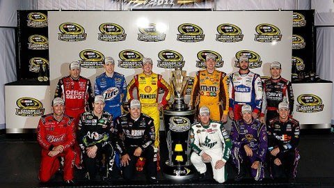 2011 - NASCAR adjusts Chase rules, puts emphasis on winning