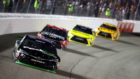 Hamlin leads most laps, wins Richmond