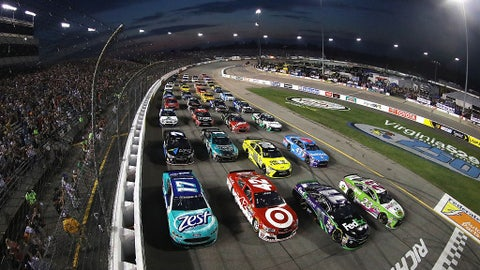 Four-wide for the fans