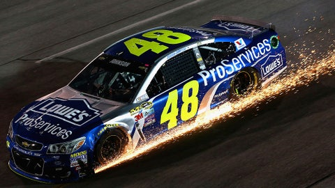 Jimmie Johnson is a long shot