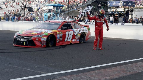 Back-to-back at the Brickyard